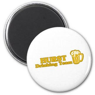 Hurst Drinking Team tee shirts Magnets