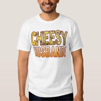 Husband Blue Cheesy T Shirt