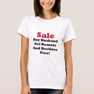 Husband For Sale Funny Tshirts