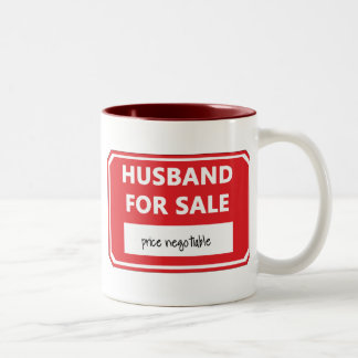 Husband for sale coffee mugs