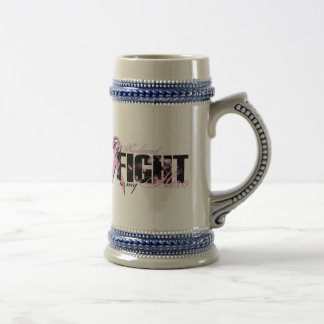 Husband Hero - Fight Breast Cancer Beer Steins