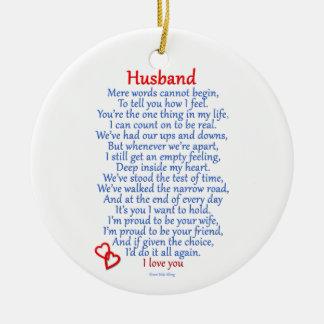 Husband Love Ornaments