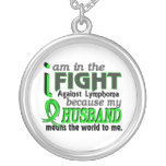 Husband Means The World To Me Lymphoma Pendant