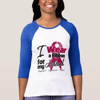 Husband - Multiple Myeloma Ribbon T-Shirt