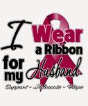 Husband - Multiple Myeloma Ribbon Tshirt