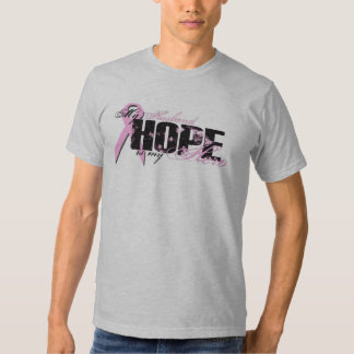 Husband My Hero - Breast Cancer Hope Shirts