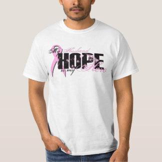Husband My Hero - Breast Cancer Hope Tee Shirts