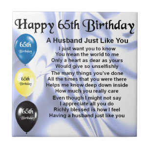 Husband 65th Birthday Gifts Gift Ideas