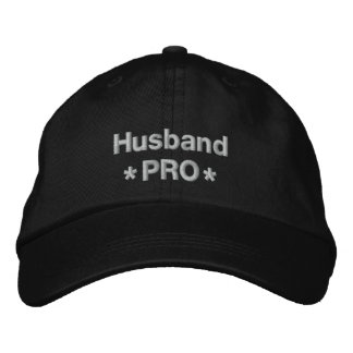 Husband Pro Embroidered Hat