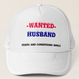 HUSBAND WANTED! TRUCKER HAT