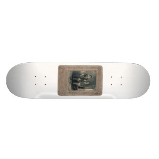 husband&wife 18.1 cm old school skateboard deck
