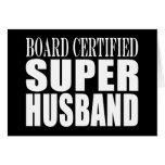 Husbands Anniversaries Birthdays : Super Husband Note Card