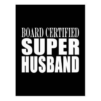 Husbands Anniversaries Birthdays Super Husband Post Cards