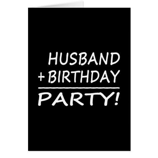 Funny Husband Birthday Cards, Photo Card Templates