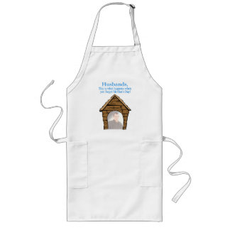 Husbands In The Dog House Apron