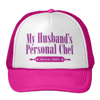 Husbands Personal Chef, Since 1997 Mesh Hat