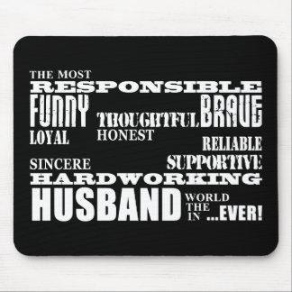 Husbands Wedding Anniversaries Birthdays Qualities Mouse Pad