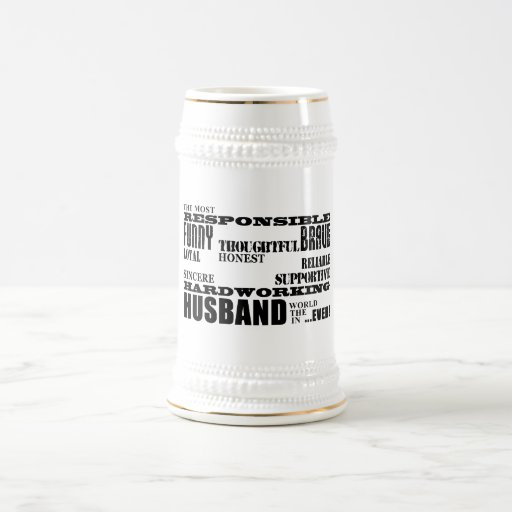 Husbands Wedding Anniversaries Birthdays Qualities Mug