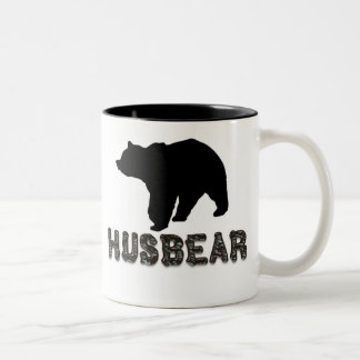 Husbear Two-Tone Coffee Mug