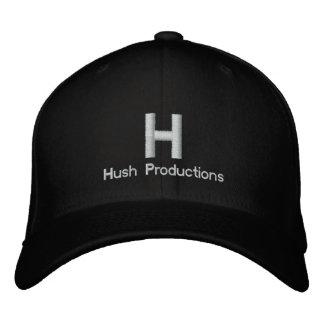 Hush Hat Embroidered Baseball Cap
