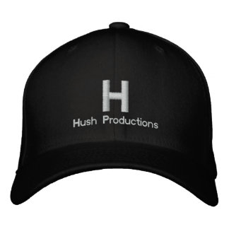Hush Hat Embroidered Baseball Cap