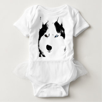 Husky Baby Tootoo One Piece Malamute Husky Dress