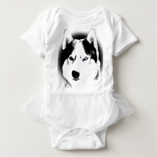 Husky Baby Tootoo One Piece Siberian Husky Dress