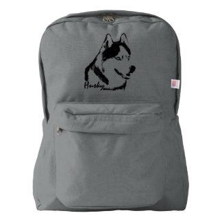 Husky Backpack Husky School Bags Personalized
