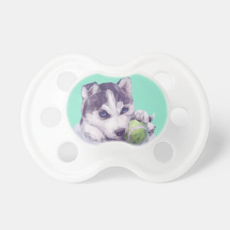 Husky Blues Baby Pacifier