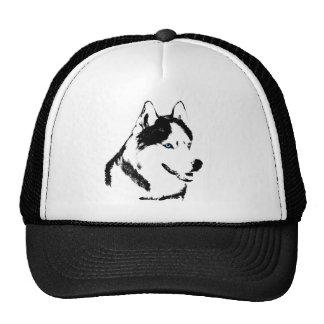 Husky Caps Sled Dog Caps Husky Wolf Hats Gifts