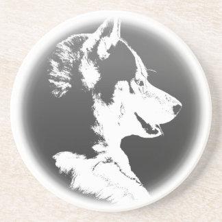 Husky Coaster Husky Puppy Dog Coaster