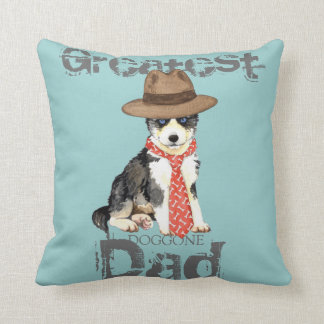 Husky Dad Cushion