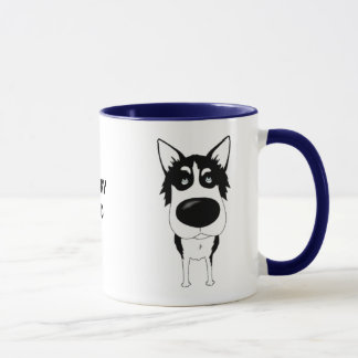 Husky Dad Mug