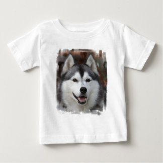Husky Dog Baby T-Shirt