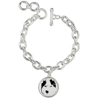 Husky Dog Bracelet Siberian Husky Charm Bracelet