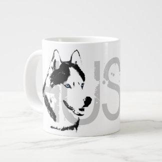 Husky Dog Coffee Mug Siberian Husky Sleg Dog Cup