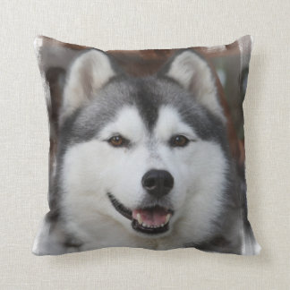 Husky Dog  Pillow