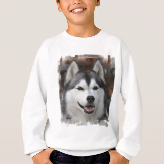 Husky Dog Sweatshirt