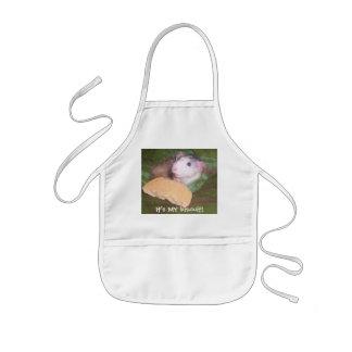 husky dumbo rat got the biscuit kids apron