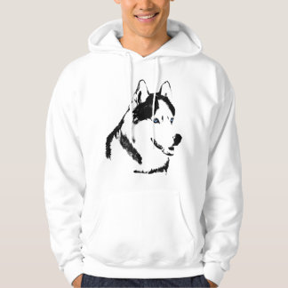 Husky Hoodie Wolf Art Hooded Sweatshirt Dog Shirts