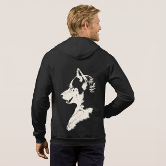 Husky Hoodie Wolf Art Kangaroo Jacket Dog Shirts