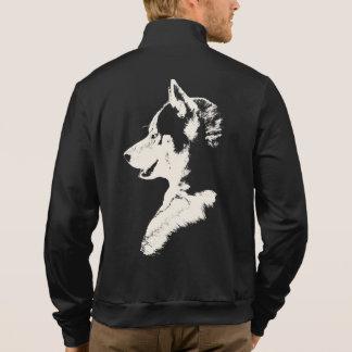 Husky Jacket Men s Siberian Husky Sled Dog Jackets