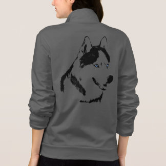 Husky Jacket Women's Siberian Husky Dog Jackets