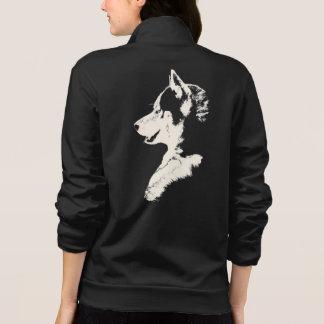 Husky Jacket Women's Siberian Husky Jackets