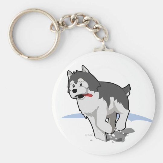 Husky Keychains