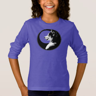 Husky Kid's Shirts Wolf Dog Kid's Husky Sweatshirt