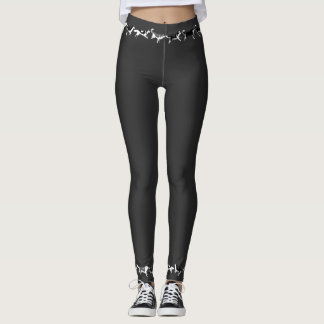 Husky Leggings Husky Malamute Dog Legging Pants