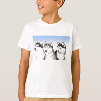Husky Malamute Sled Dogs T-Shirt