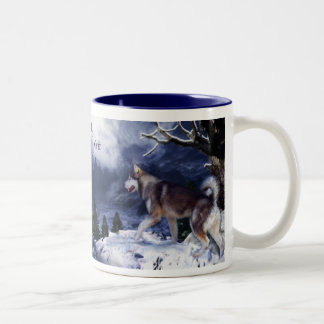 Husky-Mountain Spirit Mug