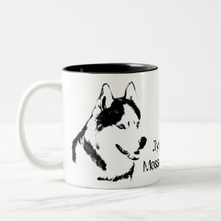 Husky Mug Coffee Cup Personalized Husky Dog Cup